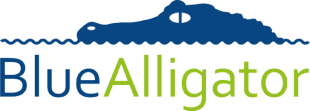Blue Alligator logo